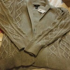Gap factory open cardigan sweater